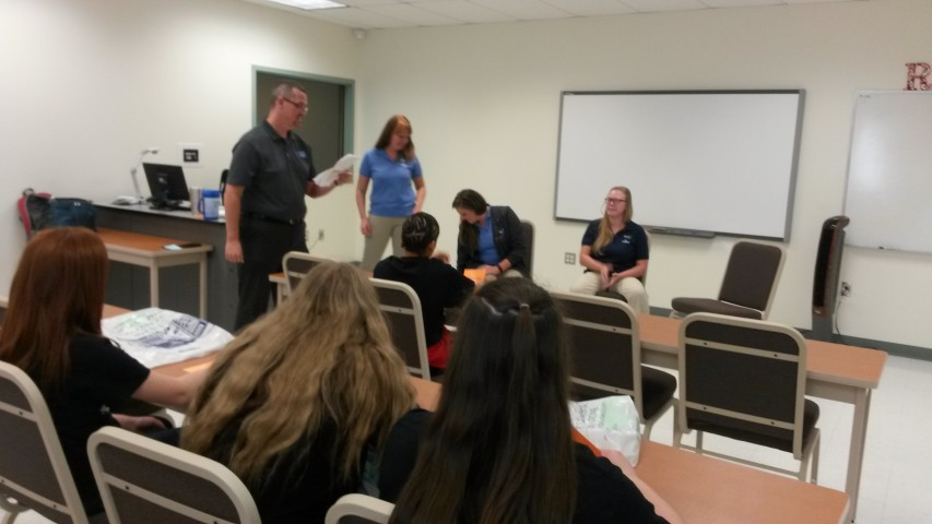 State Fair Community College Career Day - Sophomores and Eighth Grade Students attended Sept. 27th, 2016